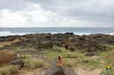 Gazing out from the southernmost point in the USA