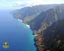 The Napali Coast by biplane!