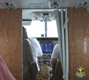 Bisckits in his element, aboard the plane to Moloka'i